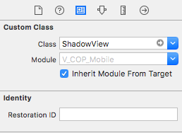Use Class Shadow View
